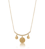 Solaris Necklace, Gold