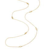 Sibille Necklace, Gold