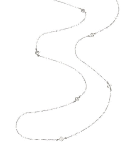 Sibille Necklace, Silver