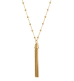 tassel, necklace, gold, kerry, rocks, jewellery