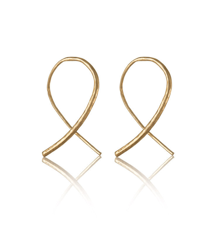 Whisper Hoops, Gold