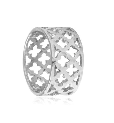 Toledo, ring, morrocan, inspired, silver, kerry, rocks, jewellery