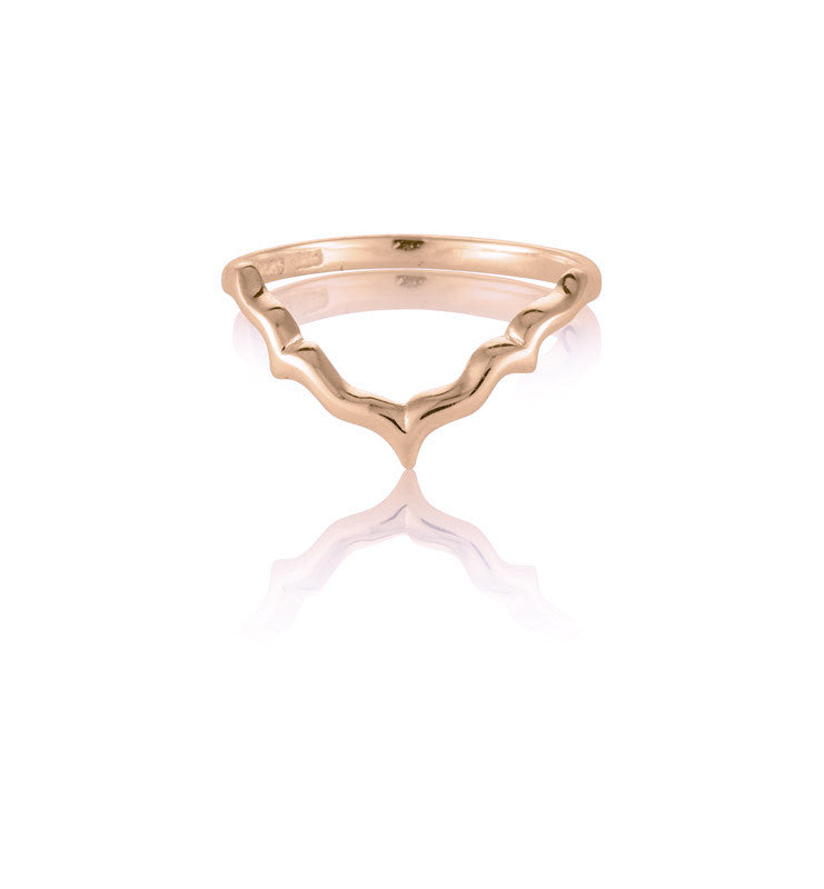 Vida Ring, 9kt Rose Gold