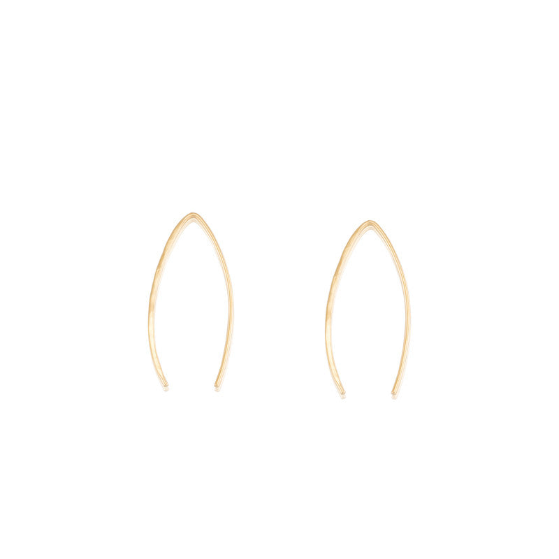 Viva Earring Long, Gold