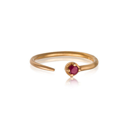 Winkie Ring, Ruby , Gold