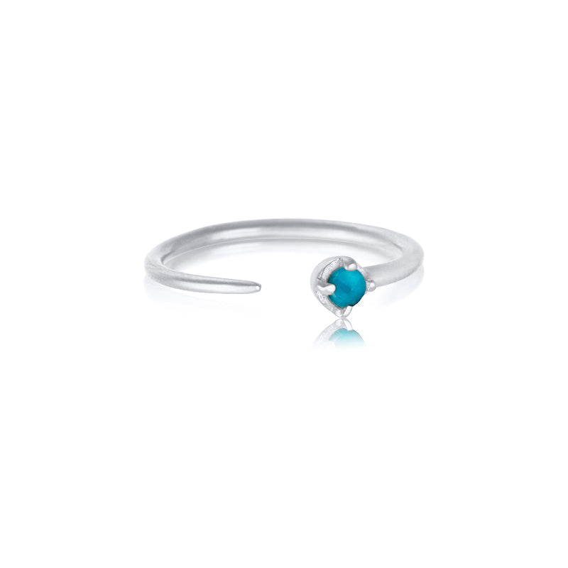 Winkie Ring, Turquoise, Silver
