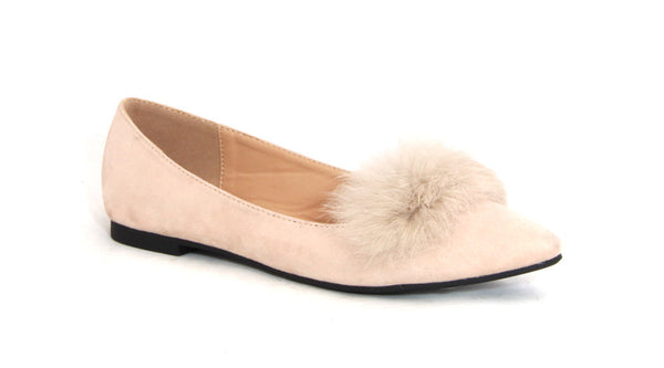 Flat Fashion Shoe Fur