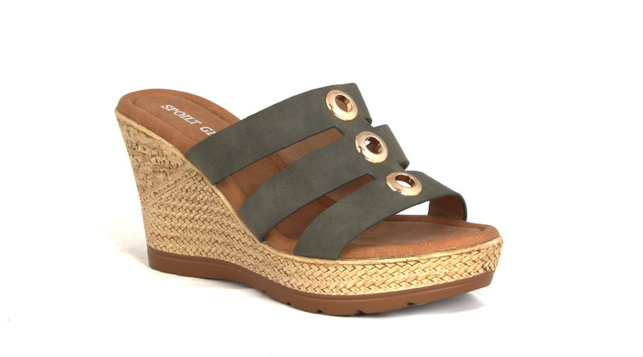 Wedge Espadrille Heel Sandals