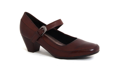 Mary-Jane Block Heel