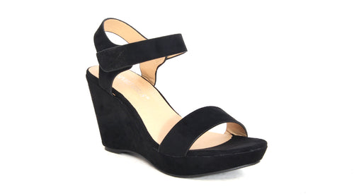Faux Suede Wedge