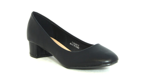 Midi Block Heel Court