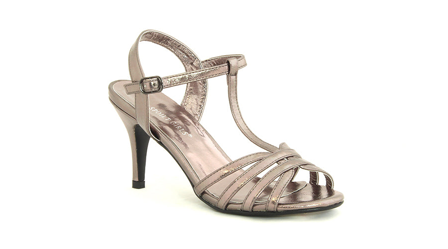 Strappy Glamour Heel