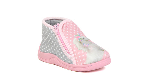 Infant Girls Footglove Slipper