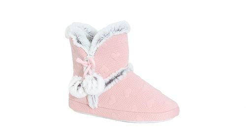 Girls Footglove Ankle Slippers
