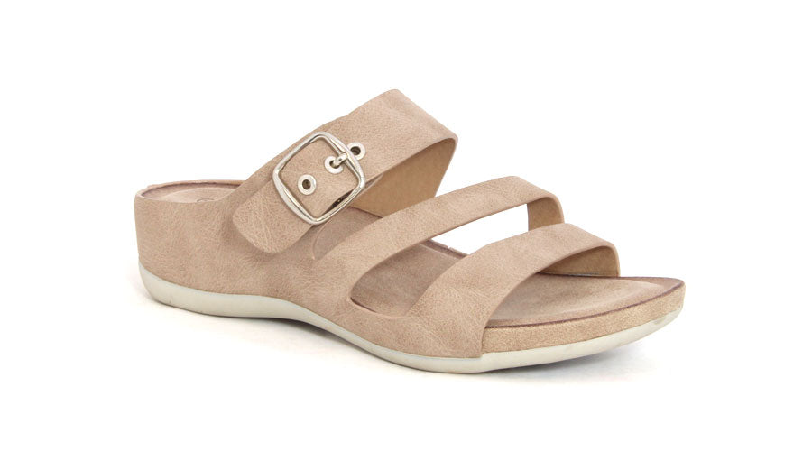 Midi Wedge Sandal