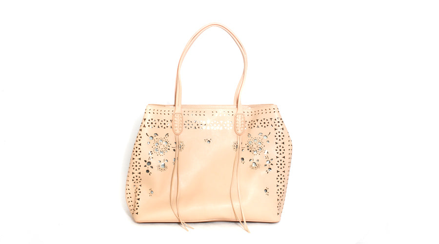 Cut-Out Shoulder Bag
