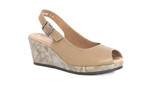 Slingback Wedge