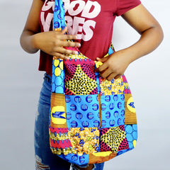 African Print Cross Bag