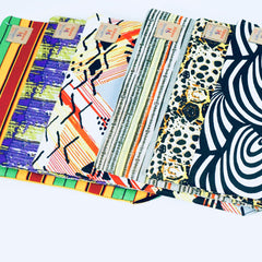 African Print Laptop Pouch