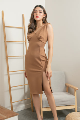 Mari Dress Brown