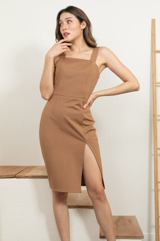 Sarina Dress Brown
