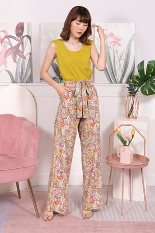 Sophie Jumpsuit Mustard (Free Size)