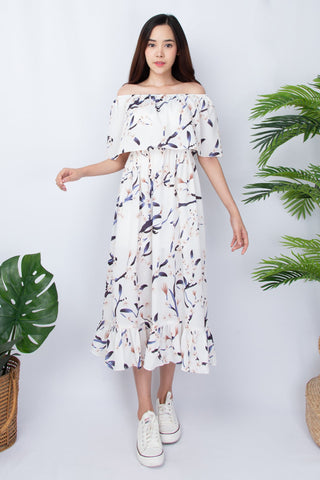 Brioni Maxi Dress - Off White