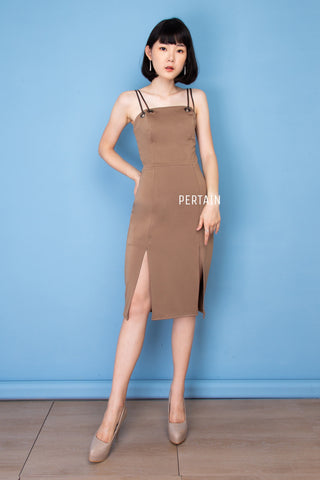 Waranya Dress - Mocca Brown