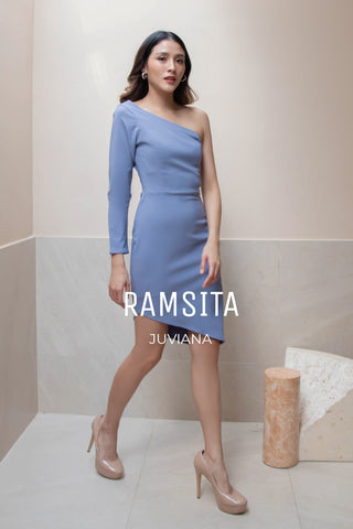 Juviana Dress Blue