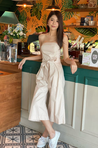 MILLY JUMPSUIT CREAM