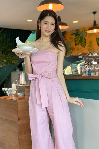 MILLY JUMPSUIT PINK