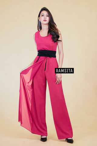 Sena Jumpsuit - Hot Pink