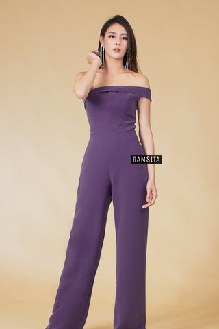 Parasaya Jumpsuit - Purple