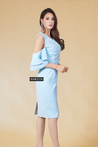 Venita Dress - Light Blue
