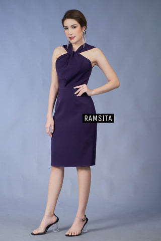 (Pre Order) Arika Dress - Purple