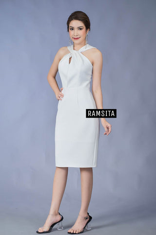 (Pre Order) Arika Dress - White