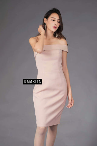 Parasaya Dress - Beige