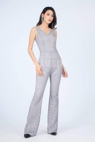 Alyssa Lace Jumpsuit