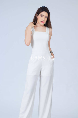 Avarez Jumpsuit Off White