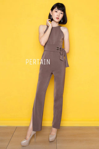 Narami Jumpsuit - Brown