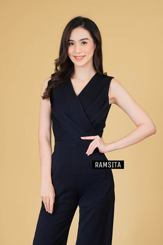 Precika Jumpsuit Black
