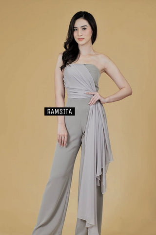 Purla Jumpsuit Grey