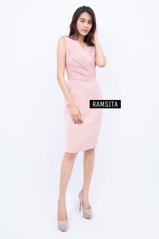 Ramsita Precika Dress Pink