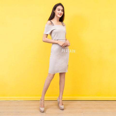 Jarina Dress Grey