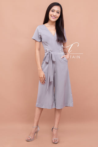 Dorothy Jumpsuit Grey