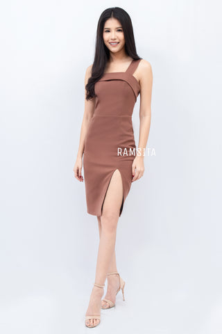 Emillie Dress Brown