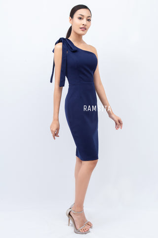 Ramsita Armela Dress Navy Blue