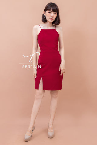 Darla Dress Red
