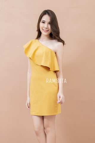 Tanisha Dress Mustard