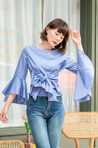 MARIYA TOP - BLUE